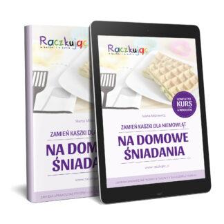 Okładka ebook Zamień kaszki dla niemowląt na domowe śniadania